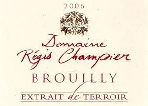 Brouilly Extrait de Terroir