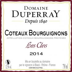 Coteaux Bourguignons Les Clos