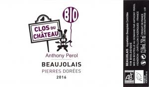 Beaujolais Clos du château