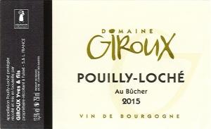 Pouilly-Loché Au Bûcher