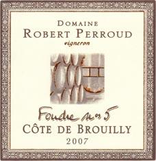 Côte de Brouilly Foudre N°5