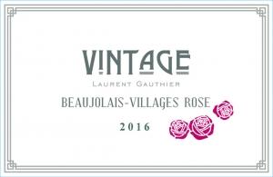 Beaujolais-Villages Rosé -Vintage-