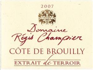 Côte de Brouilly Extrait de Terroir