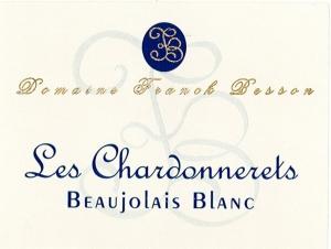 White Beaujolais  Les Chardonnerets