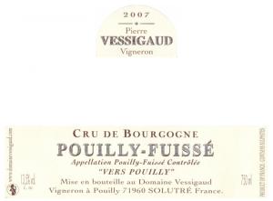 Pouilly-Fuissé Vers Pouilly