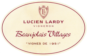 Beaujolais-Villages Vignes de 1951