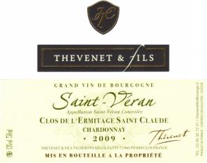 Saint-Véran Clos de l'Ermitage Saint Claude