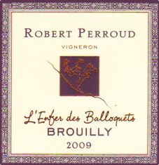 Brouilly L'Enfer des Balloquets