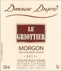 Morgon Le Griottier